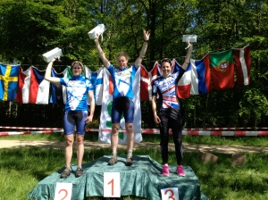 Long mass start podium in Denmark. Happy with 3rd after 90mins of fun, tough head-to-head racing.