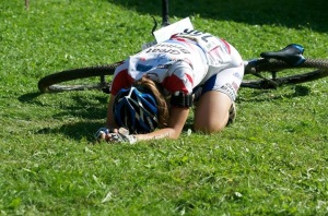I never finished any race feeling like this. Although I pushed my body hard, it wasn't to complete exhaustion.